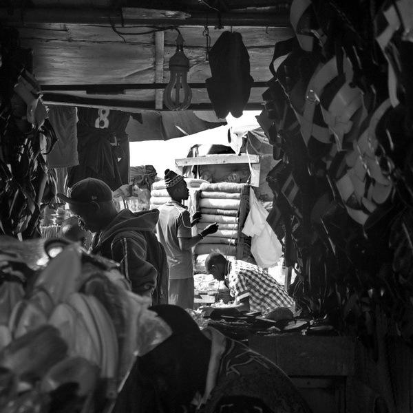 sénégal 8/  dakar / marché HLM - boutique