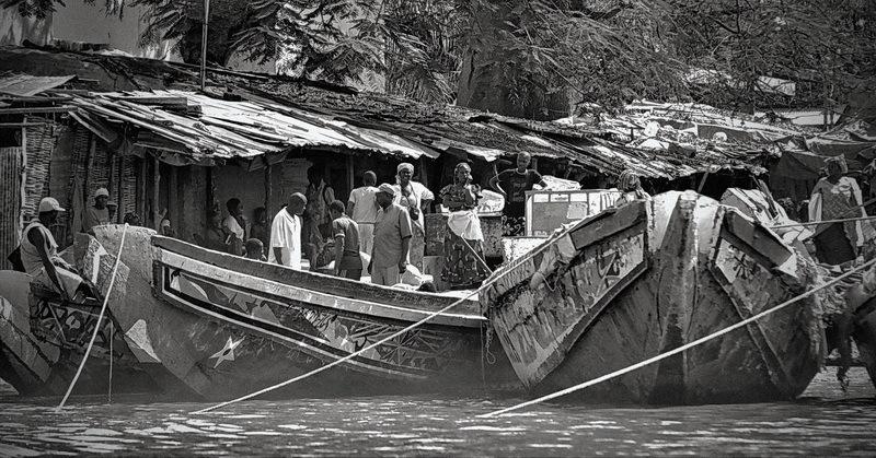 sénégal 52 / casamance /  port de pêche