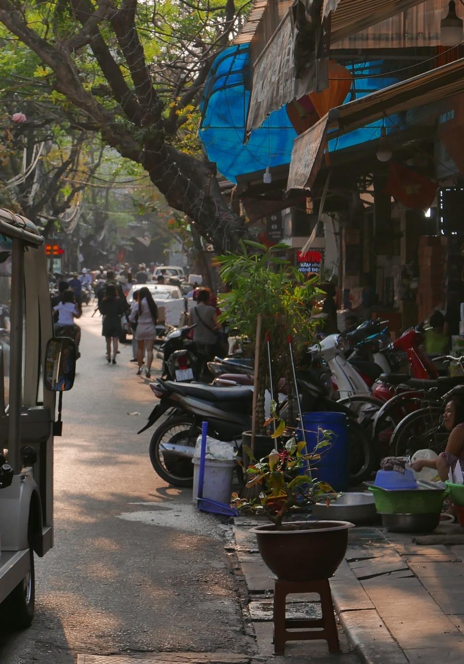 Hanoi vieux quartier