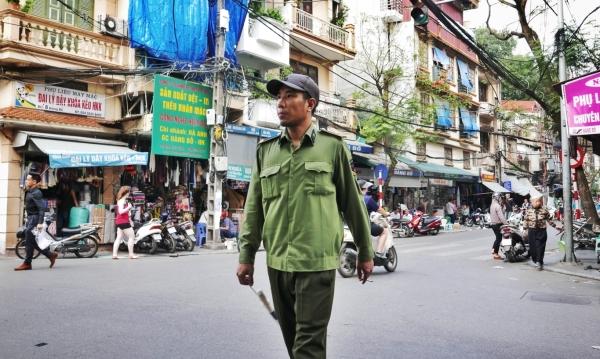 Hanoi policier
