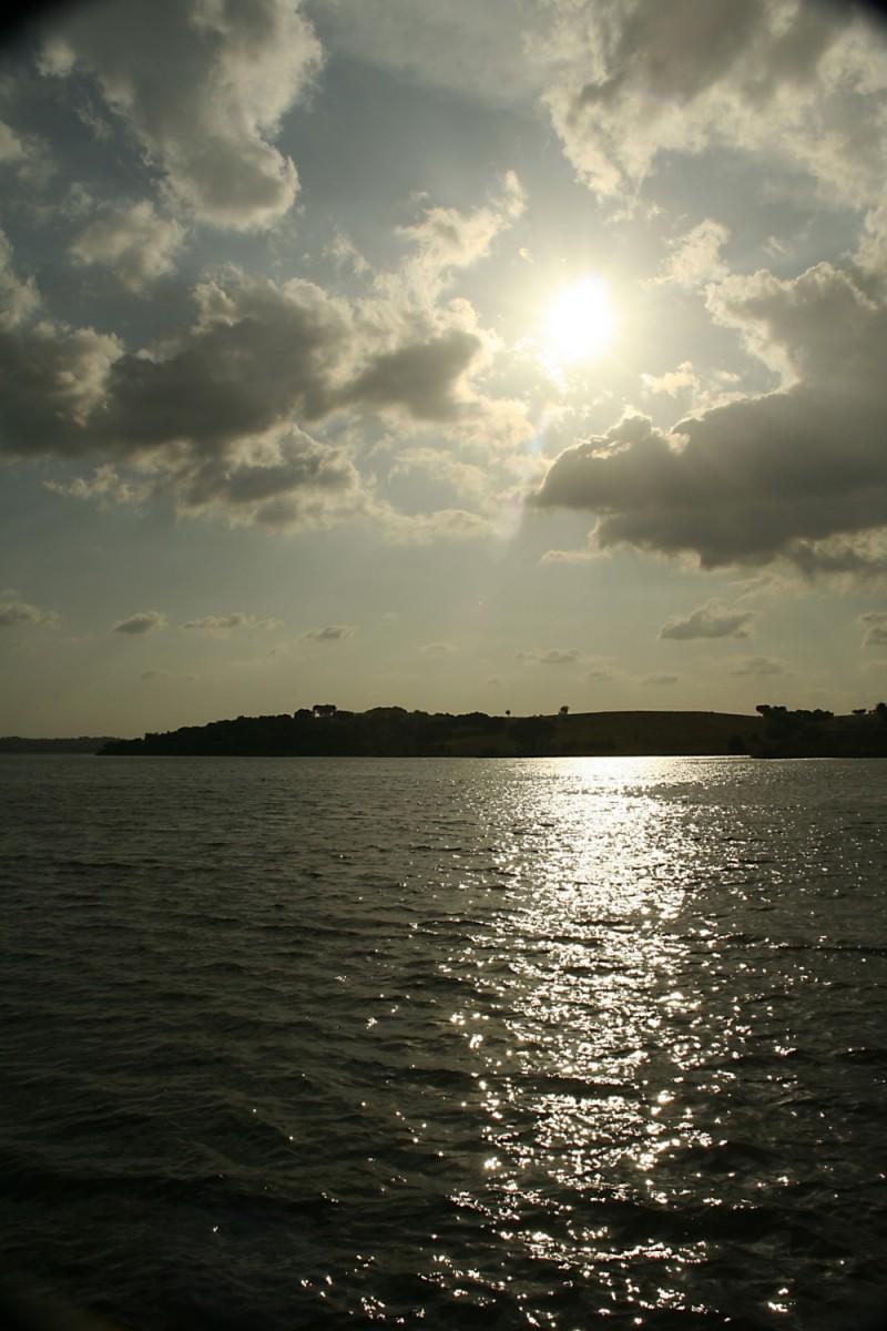 Sunset over Maranhão