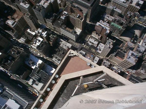 NYC via Empire State Building
