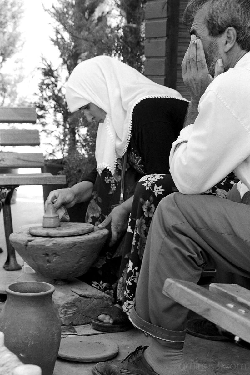 Anatolian craft woman, Istanbul