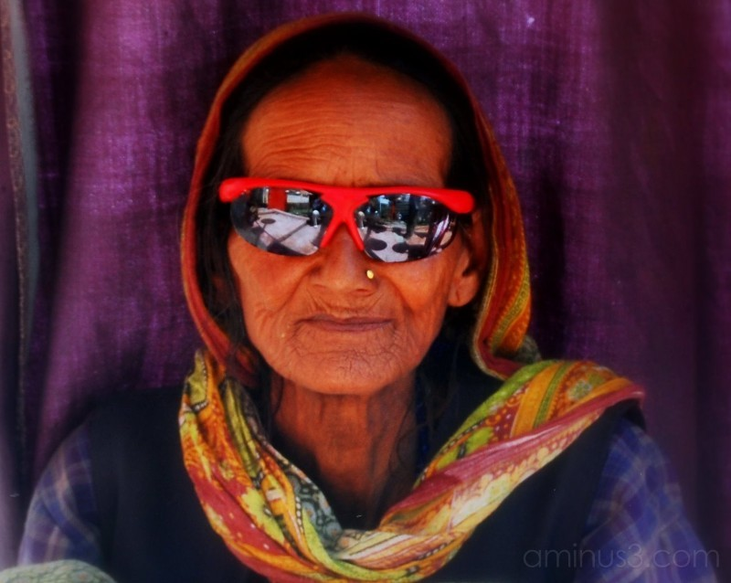 old lady of the shades