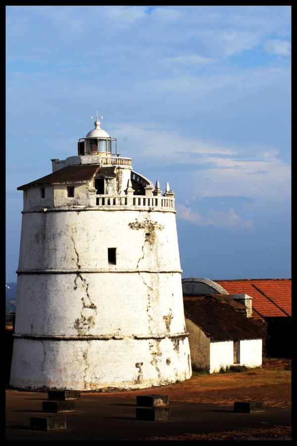 ancient light house at fort aguida
