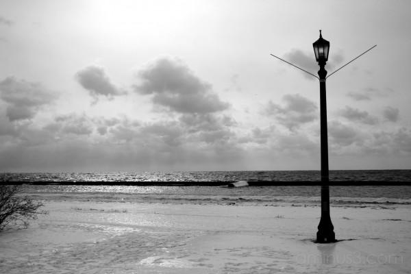 04/02/07 lake and lamp