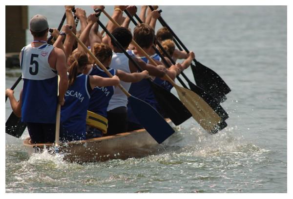 Wascana War Canoe