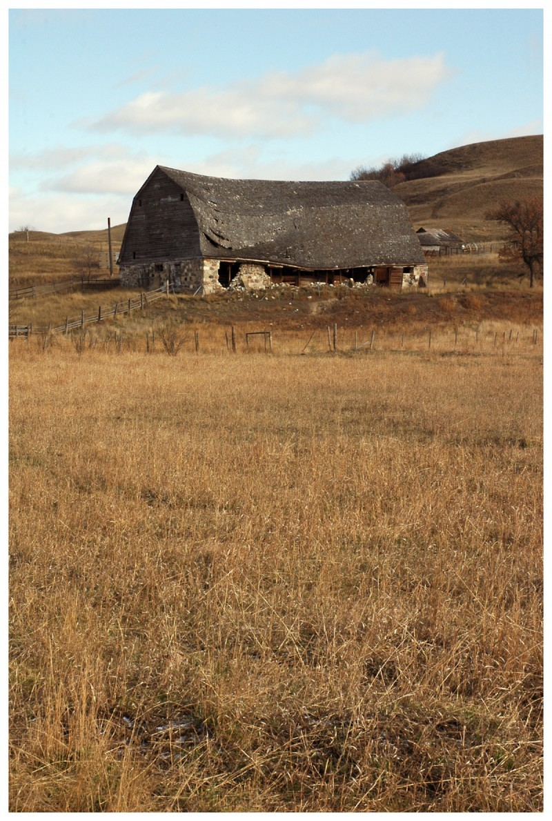 broken back barn