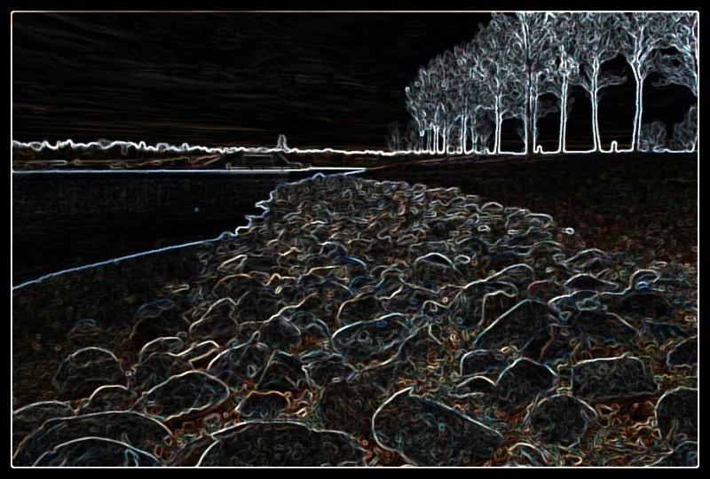 Wascana Rocks Abstract 1