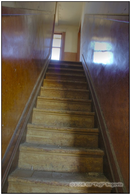 Stairwell to empty
