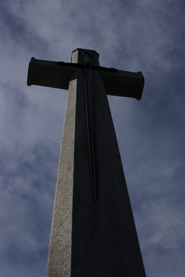 Memorial Cross at Regina Cemetary