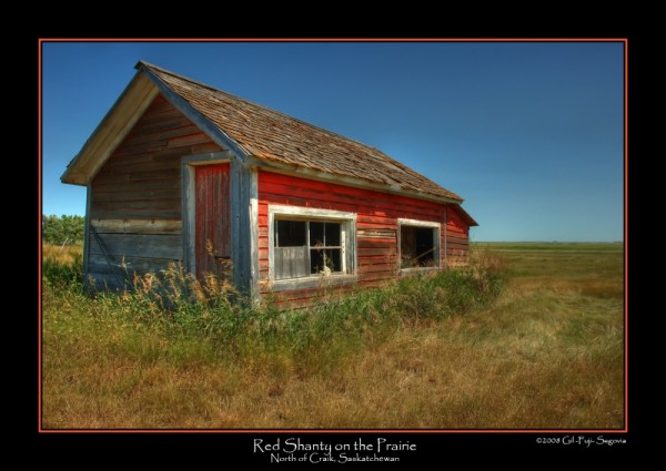 Red Shanty on the Prairie