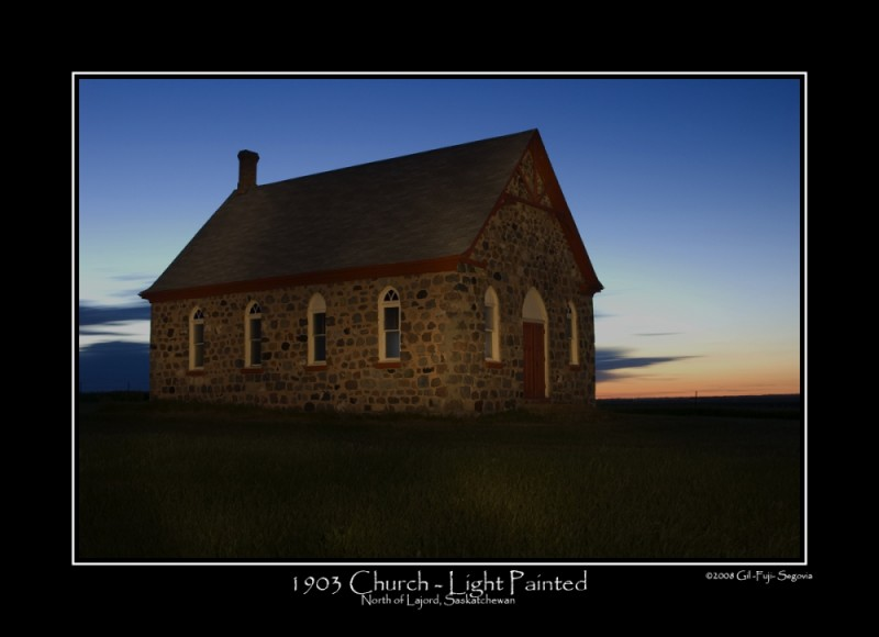 1903 Church - Painted with Light