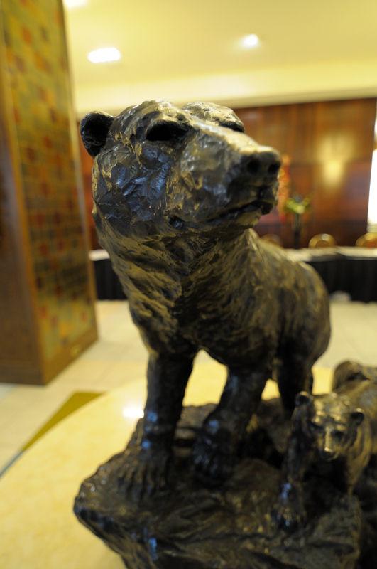 Bears in the Fairmont Hotel, Winnipeg MB