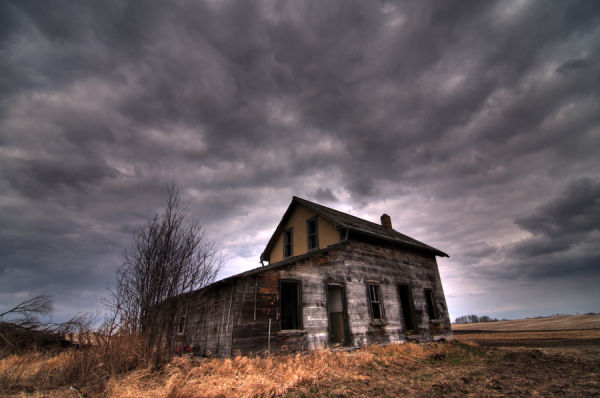 Abandoned in Moosomin