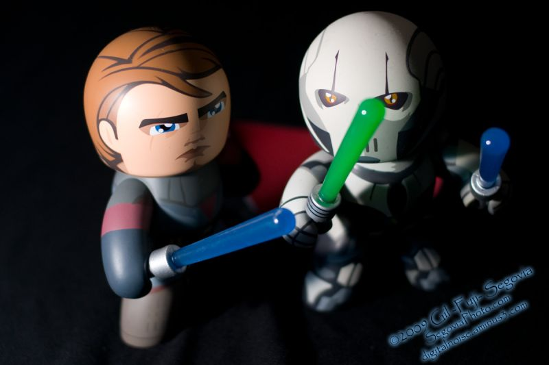 General Grievous and Anakin