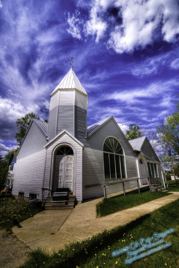 A Church in Elbow, SK