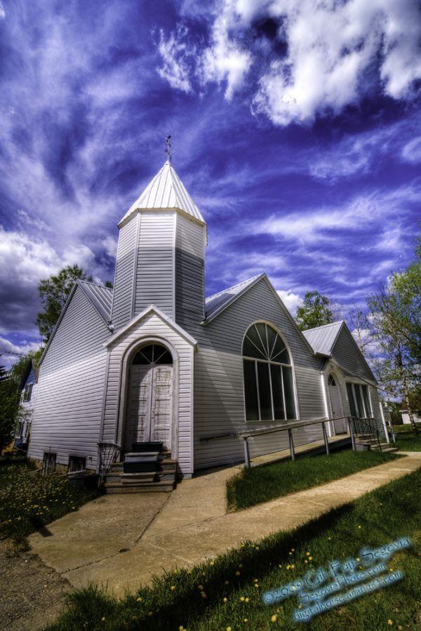 A Church in Elbow, SK