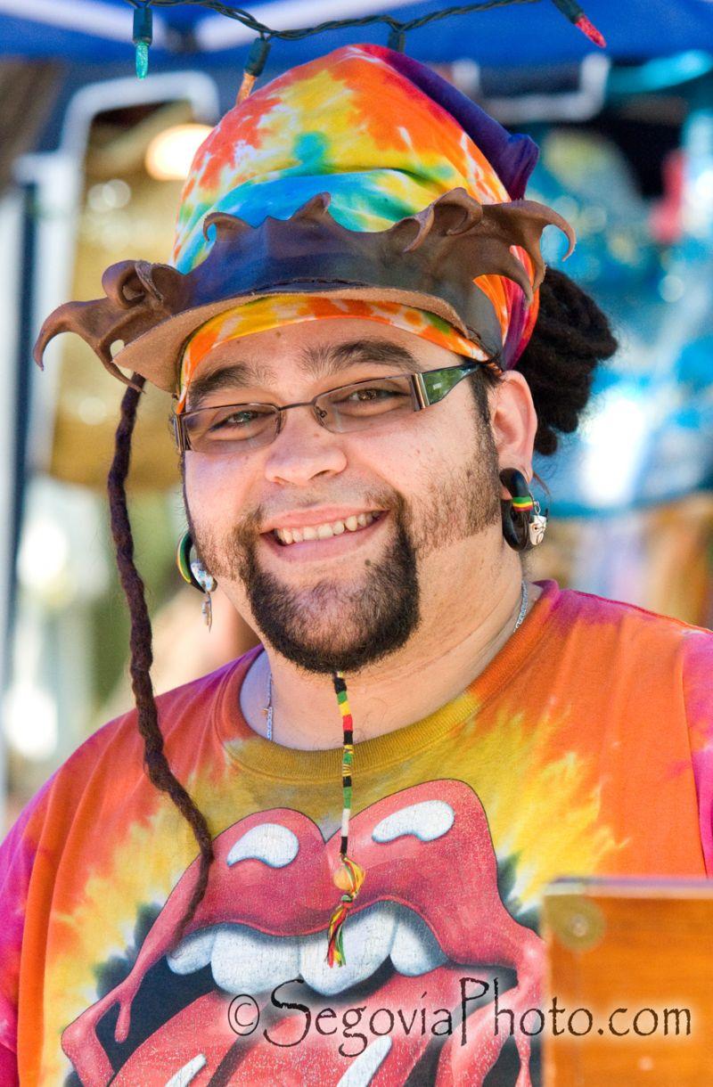 A Colorful Vendor