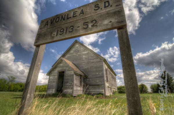 An Avonlea S.D. building