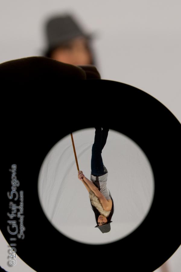 Flip upside down