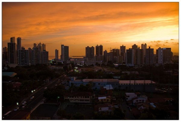 Panama City Sunset (I)