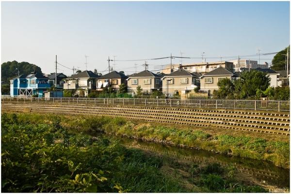 Housing along a Canal