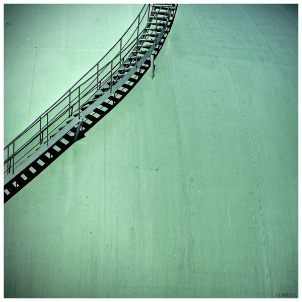 Stairway to the Top of the Gas Tank