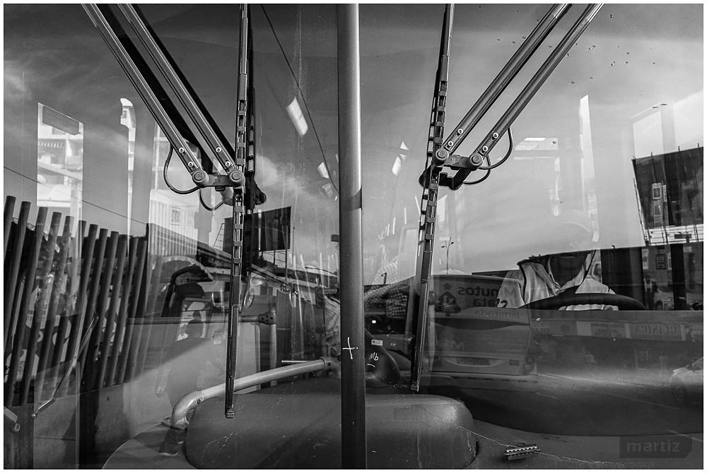 El operador de bus