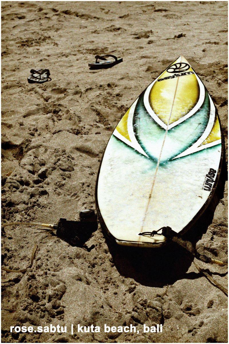 surf, bali, board, beach, kuta