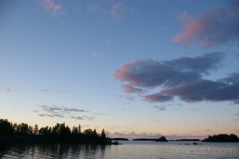 Sunrise on Lac LaRonge
