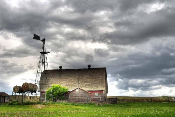 Barnyard Windmill