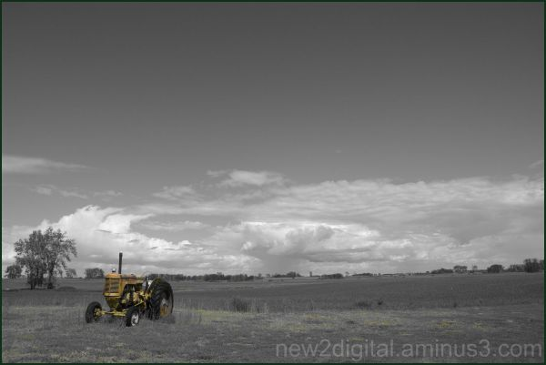 Little Tractor on the Prairie #2