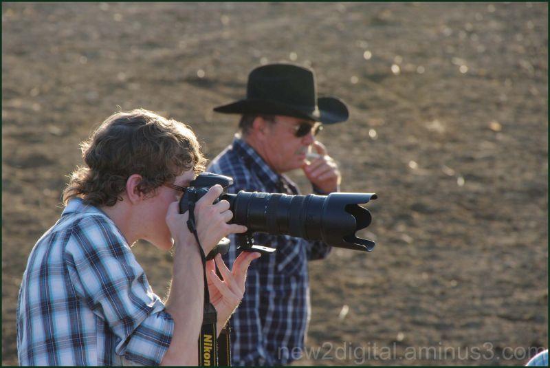 Photographer and Smoker