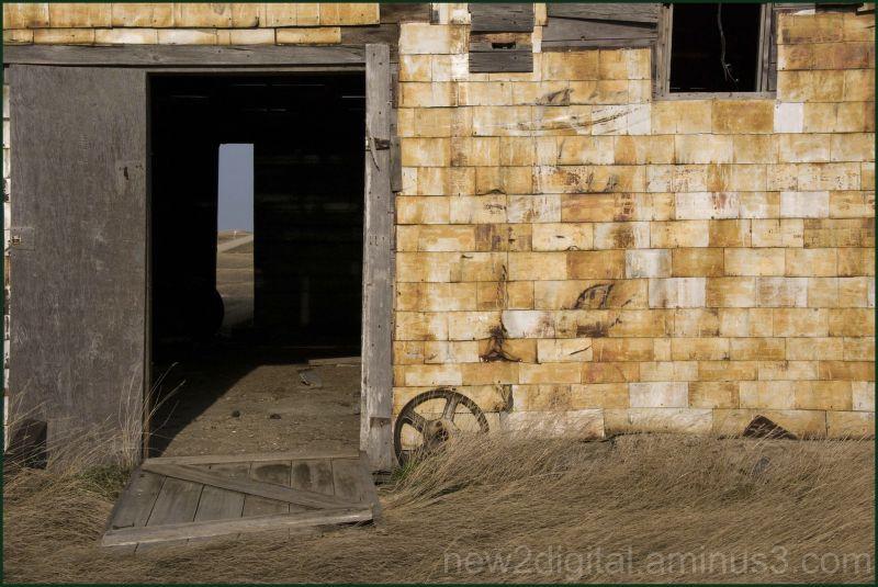 Who left the barn doors open?