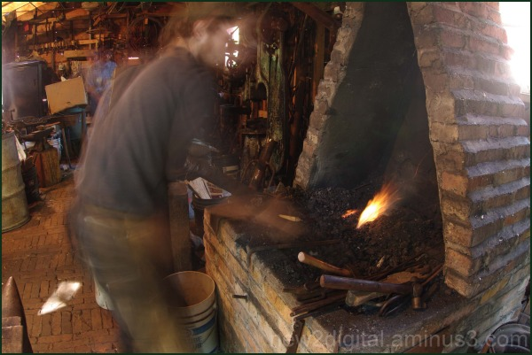 Ghost of a Blacksmith