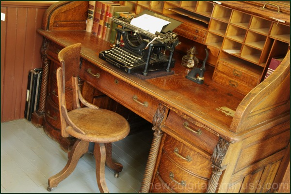 Lawyer's Desk and Chair