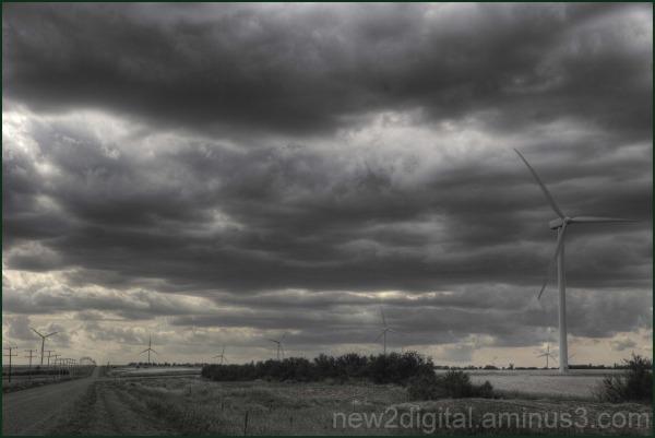 Road to the Windfarm