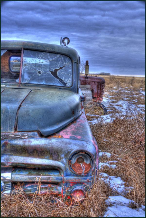 Little Truck on the Prairie
