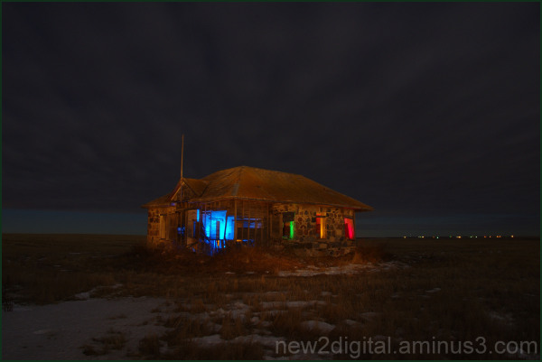 House Painting with Light 2/3