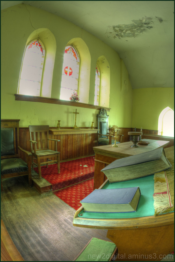 By the Pulpit