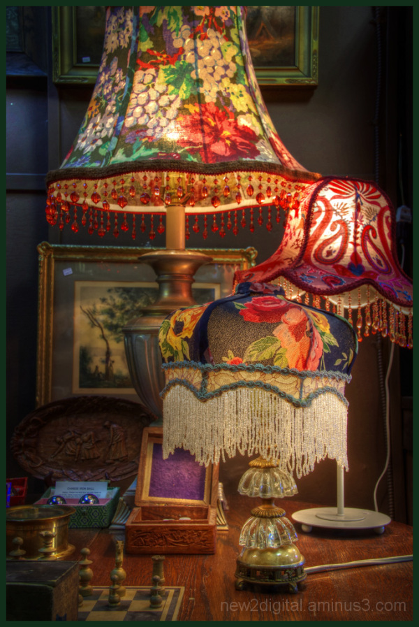 Lampshades of Many Colours
