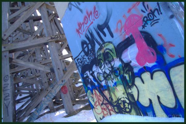 Trestles and Graffiti