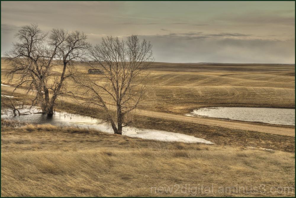 Layers of Farm Land