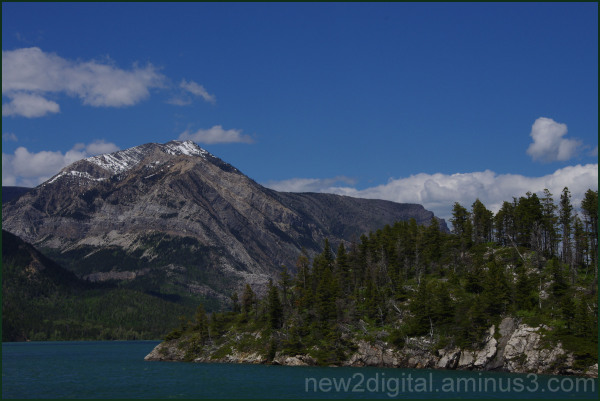 On Waterton Lake 2/4