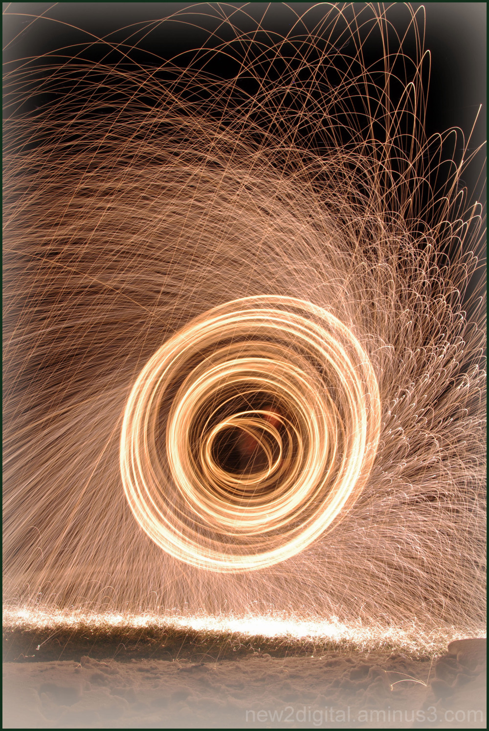 Spinning Steel Wool 3/3