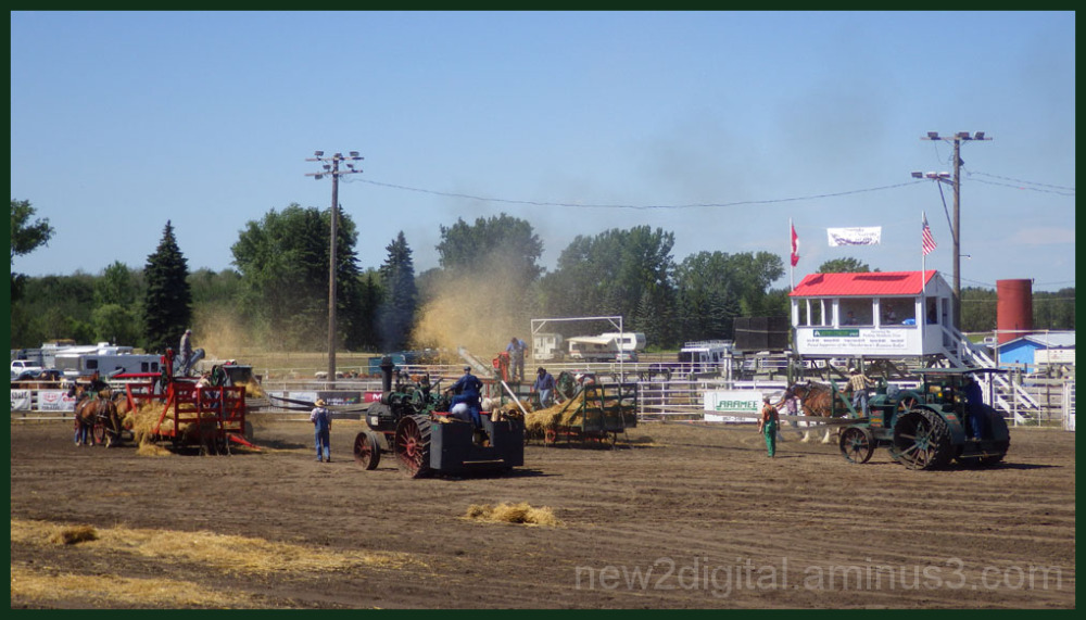 Threshing Contest