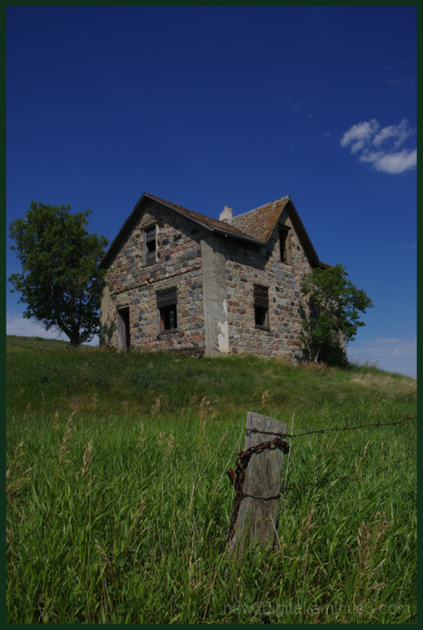 Stone House on a Hill