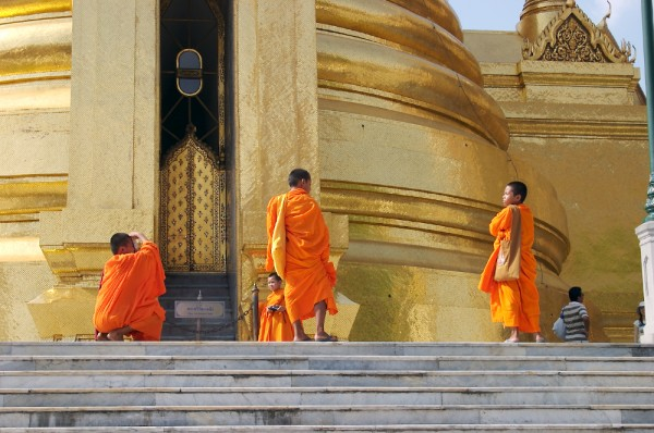 Site Seeing Monks