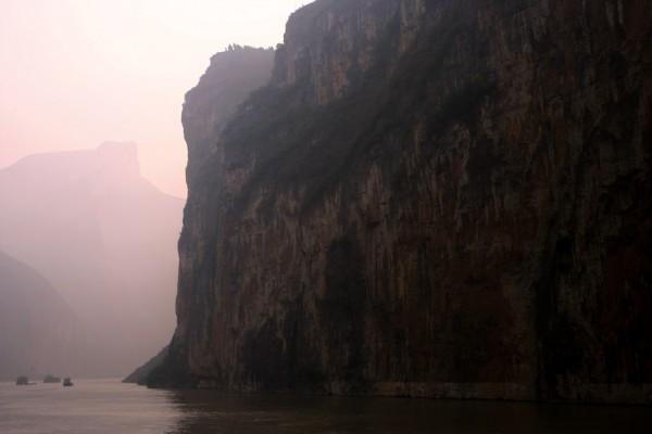 Cargo boats on Yangtze River